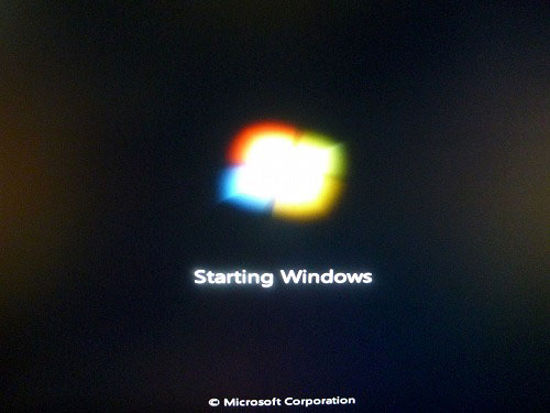 Starting Windows
