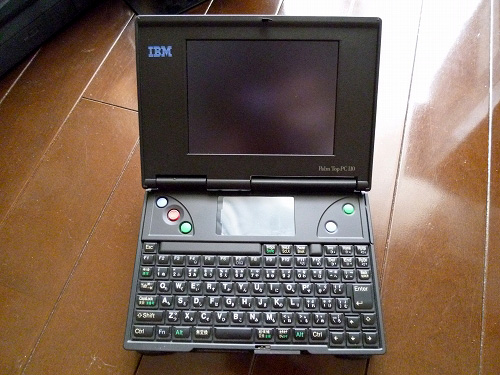 Palm Top PC110 正面