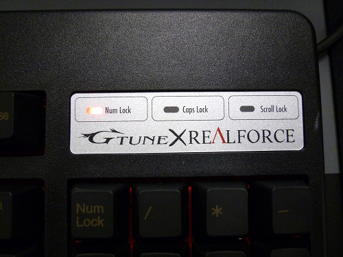 G-Tune×REALFORCE