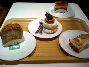 自由が丘でケーキ